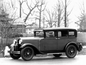 Dodge Brothers Six De Luxe Sedan 1929 года